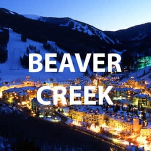 Beaver Creek at night